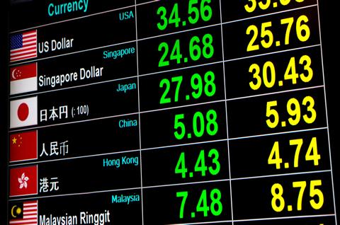 外国為替と外国為替レート